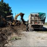 Guerrico: Trabajos en la playa de camiones municipal 3