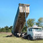 Guerrico: Trabajos en la playa de camiones municipal 1