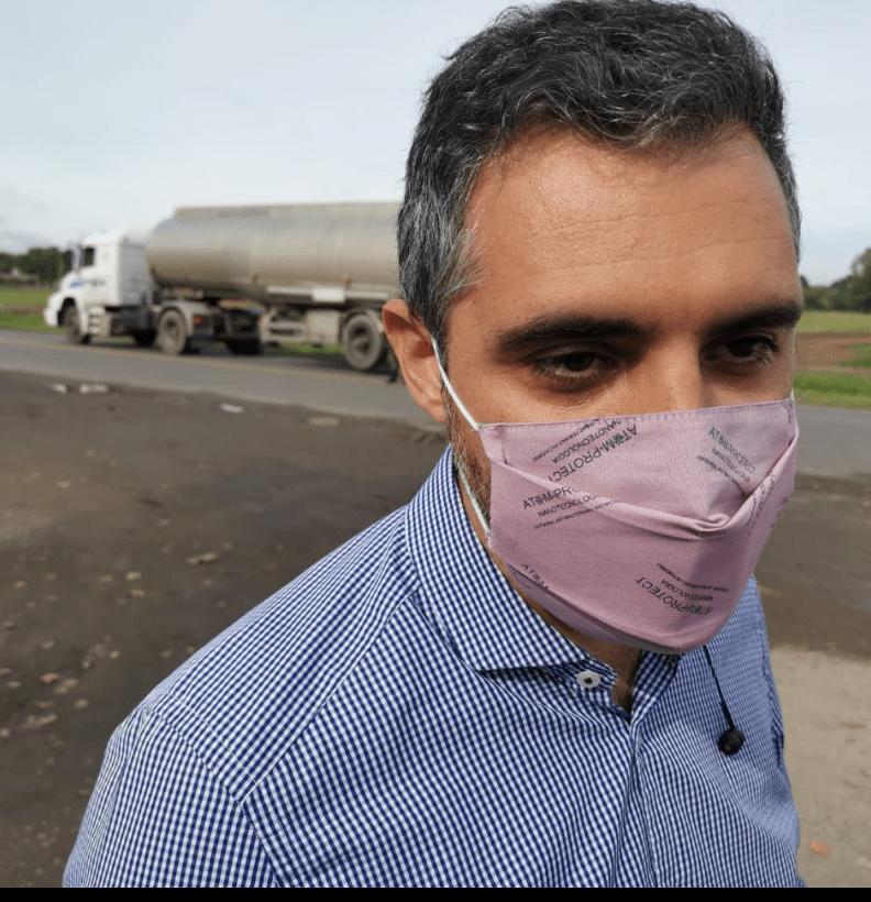 El titular de ARBA Cristian Girard visitó Pergamino junto al Subsecretario de Transporte Alejo Supply 2