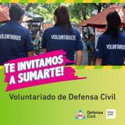 Defensa Civil incorpora voluntarios para trabajar en la prevención y atención de emergencias 3