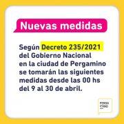 La Municipalidad de Pergamino se acogerá a lo dispuesto por el Estado Nacional hasta a la espera de las determinaciones de Provincia 5