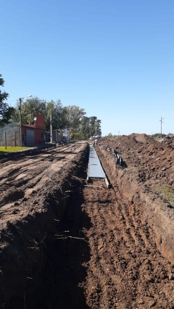 Cordón cuneta para los barrios La Rural y La Cañada 1