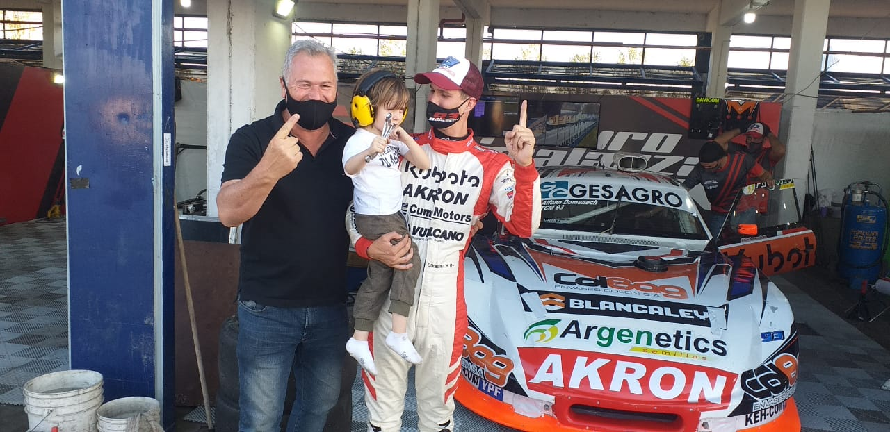 TC Mouras: Domenech hizo la pole 1