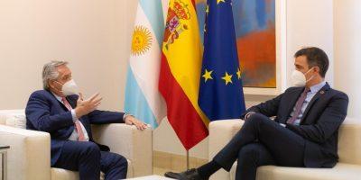 Alberto Fernández se reunió con el Rey Felipe VI de España y con el presidente Pedro Sánchez 9