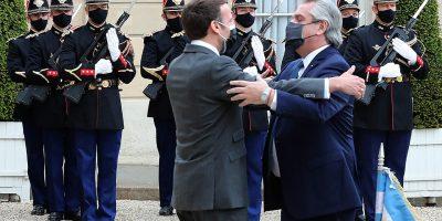 El Presidente se reunió con su par de Francia y termina su gira en Roma 5