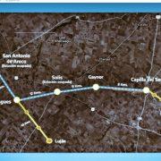 El diputado Lisandro Bormioli participó de una reunión porla vuelta del ramal de tren Pergamino - Victoria 2