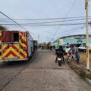 Vuelco y fuga en Barrio Acevedo 12