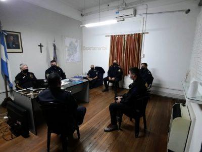 Importante reunión de la cúpula policial tras el nombramiento del nuevo jefe de la DDI 5