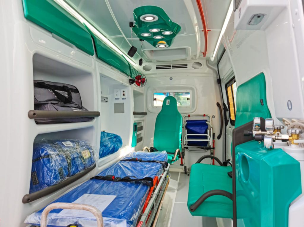 El SAME sumó una nueva ambulancia 1