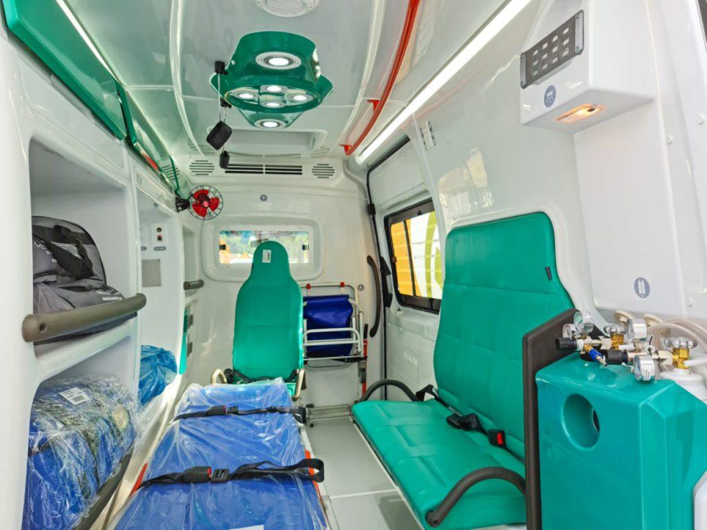 El SAME sumó una nueva ambulancia 3