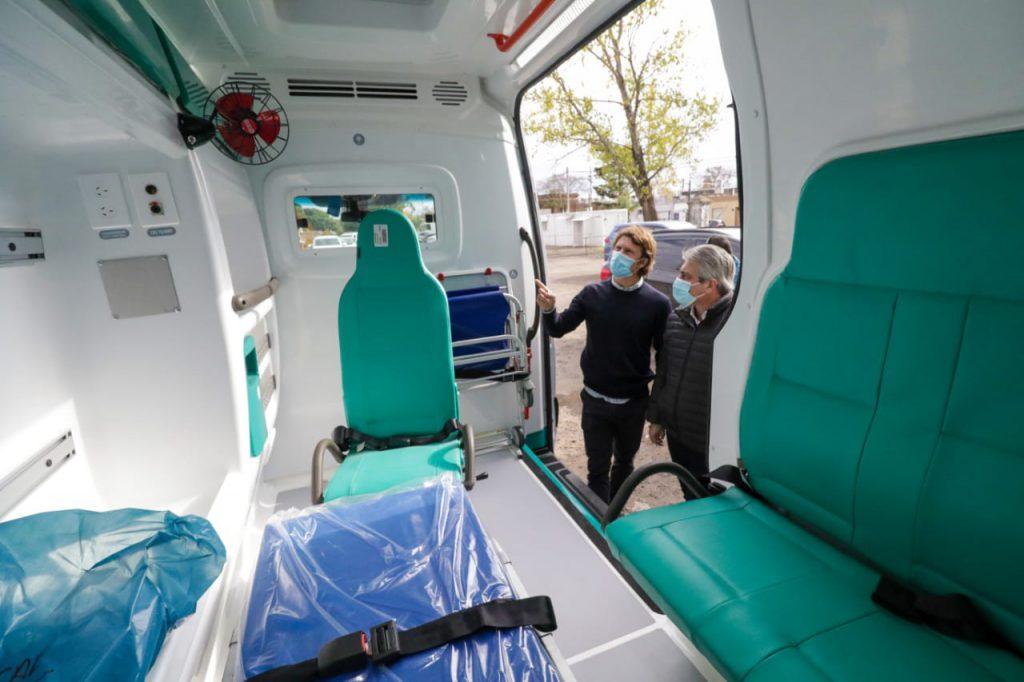 El SAME sumó una nueva ambulancia 2