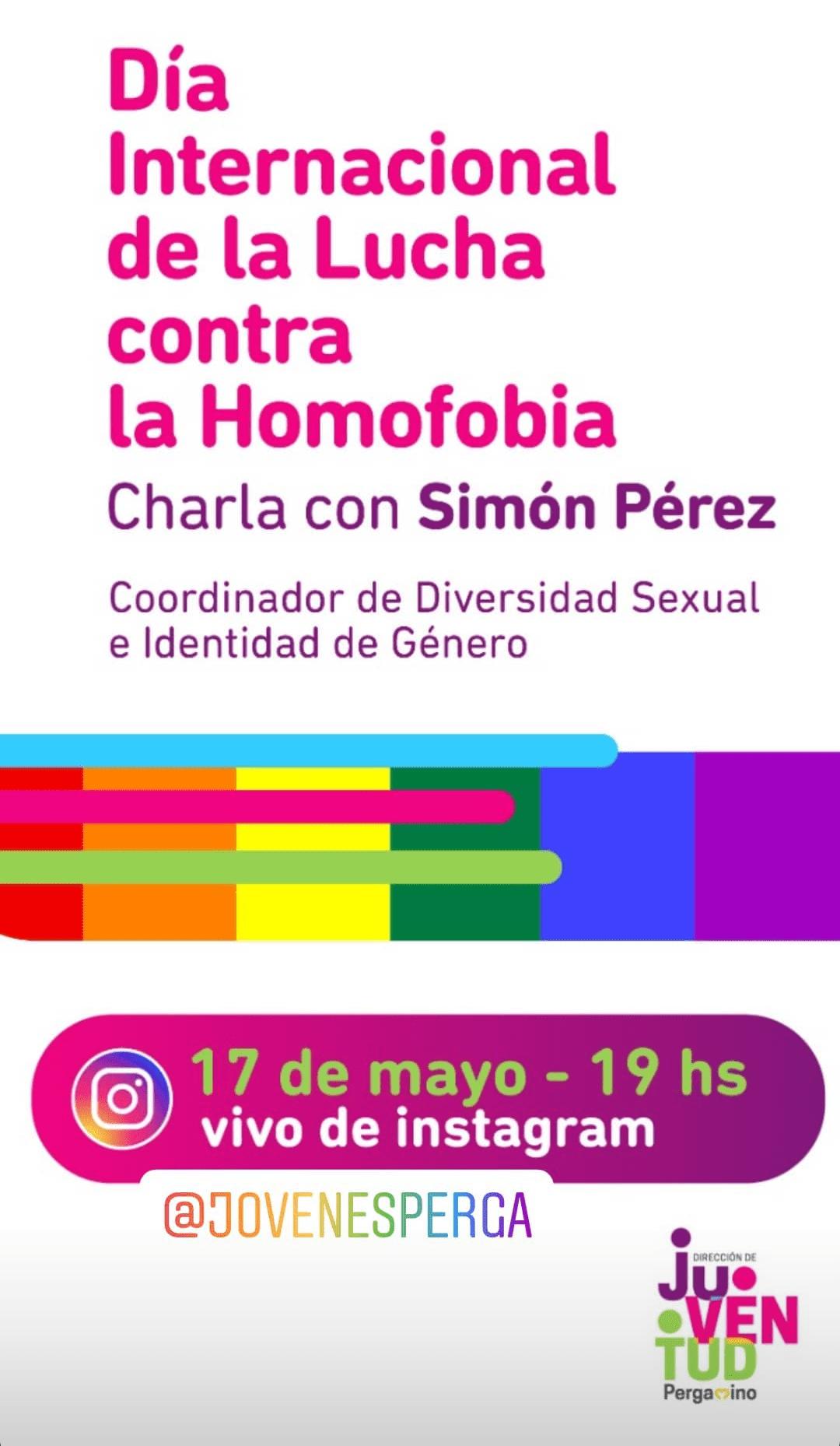 Charla en el marco del Día Internacional contra la Homofobia, Bifobia y Transfobia 1