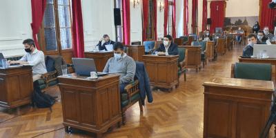 La presidenta del HCD Gabriela Taruselli compartió un resumen de la 10ma sesión del año 8