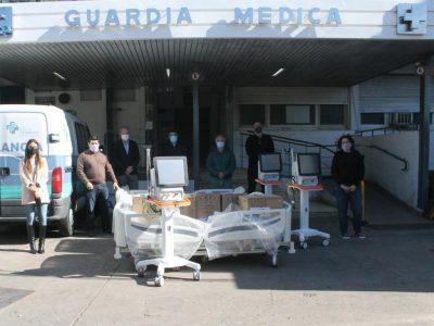 IOMA entregó camas y equipamiento para UTI a la Clínica Pergamino 1