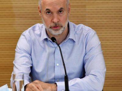 Larreta anunció la suspensión de clases presenciales 17
