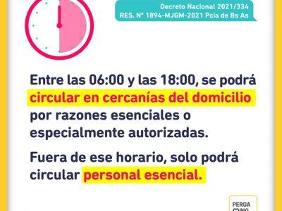 La Municipalidad de Pergamino anunció las restricciones 8