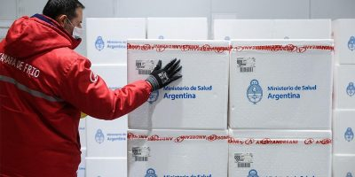 Comienza la distribución en todo el país de más de 470 mil vacunas Sputnik V 9