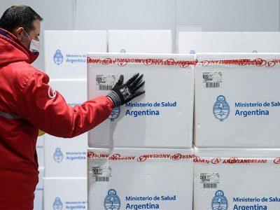 Comienza la distribución en todo el país de más de 470 mil vacunas Sputnik V 5