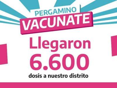 Llegada record: Arribaron 6600 dosis de vacunas contra el Coronavirus a Pergamino 3