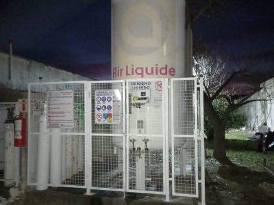 Colón: El Hospital Local sumó un nuevo sistema de oxígeno 11