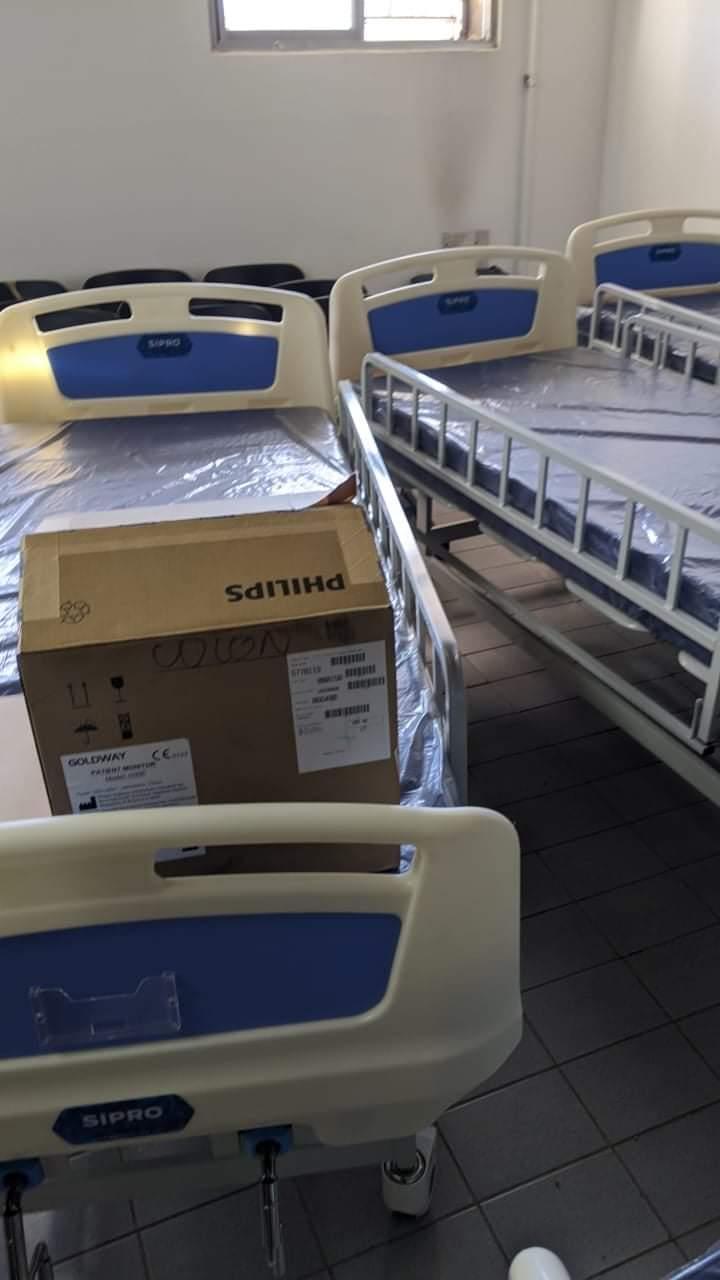 Colón amplía la capacidad UTI en su Hospital 1