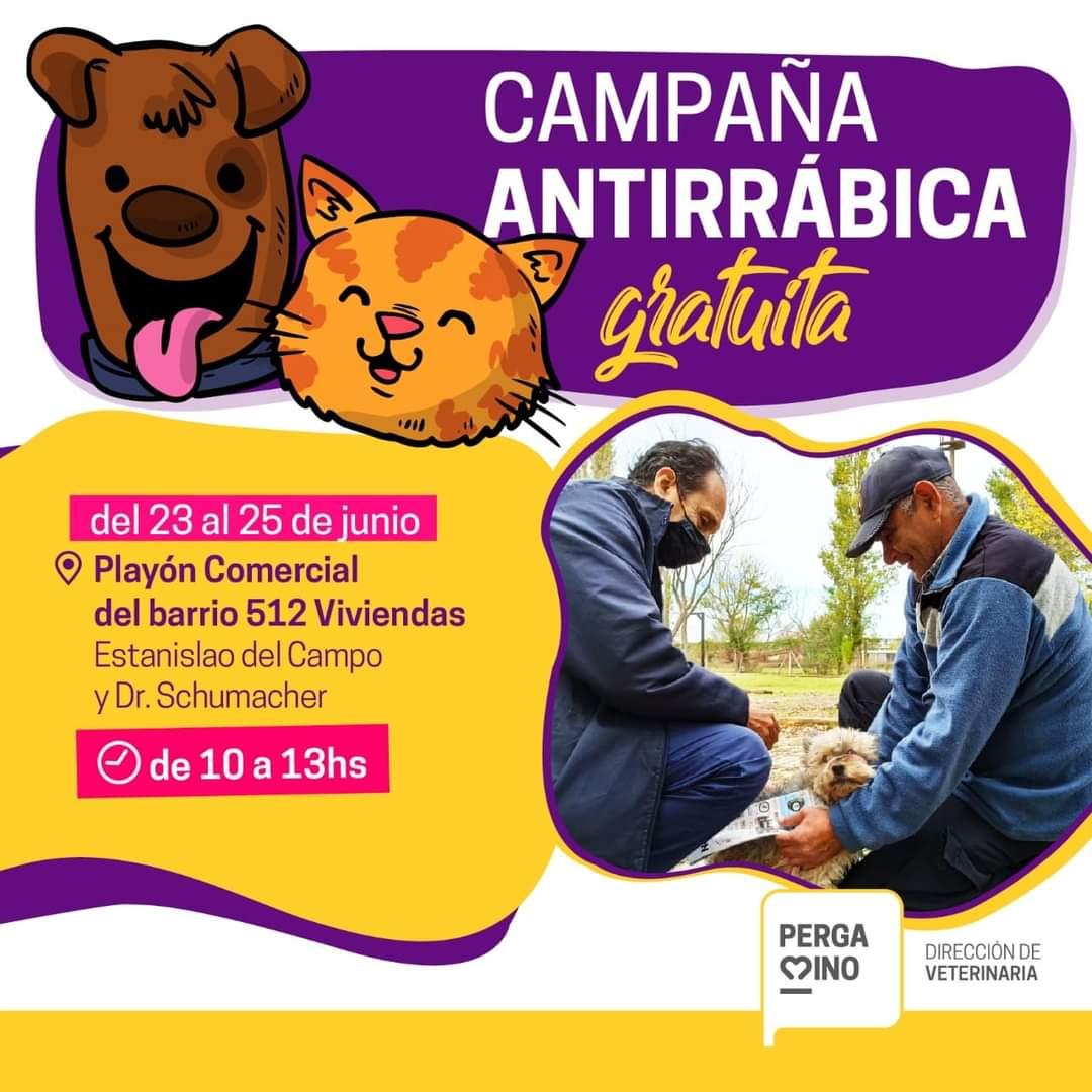 Continúa la campaña de vacunación antirrábica 1