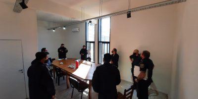 Vecinos de Barrio Linotex y María Crescencia Pérez se reunieron con funcionarios de seguridad 8