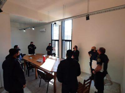 Vecinos de Barrio Linotex y María Crescencia Pérez se reunieron con funcionarios de seguridad 3