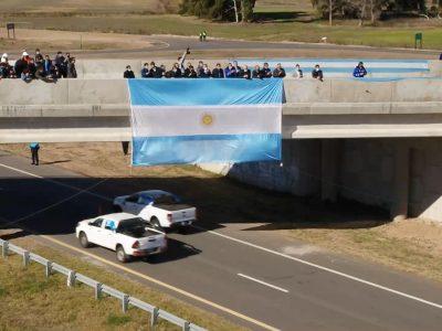 Quedó inaugurado un tramo de la Autopista Ruta Nacional 7 entre Chacabuco y Junín 4