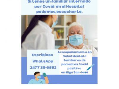 """Dialogamos con integrantes del área de Salud Mental del Hospital """"San José"""" 4"""