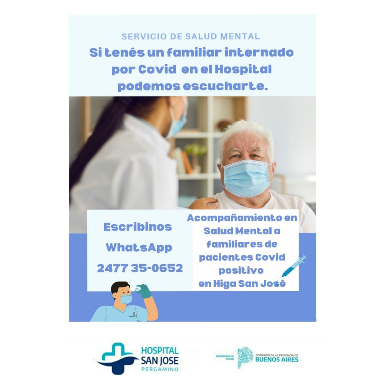 """Dialogamos con integrantes del área de Salud Mental del Hospital """"San José"""" 1"""
