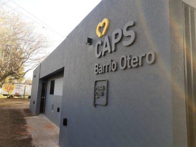 Quedó inaugurada la remodelación del CAPS Otero 4