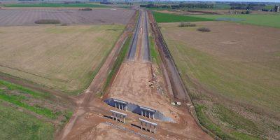 Vialidad Nacional se comprometió a realizar la bajada en Urquiza de la autopista 13