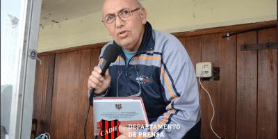José Luis Picarelli fue distinguido por el Club Atlético Douglas Haig 19