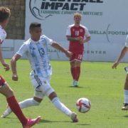 Triunfo de la selección Argentina Sub23 con Jeremías Ledesma como titular 3