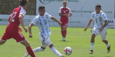 Triunfo de la selección Argentina Sub23 con Jeremías Ledesma como titular 18