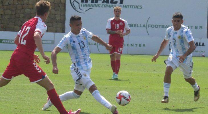 Triunfo de la selección Argentina Sub23 con Jeremías Ledesma como titular 1