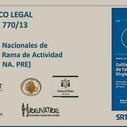 COMUNICADO: El RENATRE presentó el Manual de Buenas Prácticas para la actividad tabacalera en Jujuy 17