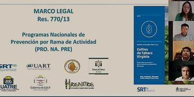 COMUNICADO: El RENATRE presentó el Manual de Buenas Prácticas para la actividad tabacalera en Jujuy 10