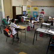 Las clases presenciales seguirán suspendidas en Pergamino 13