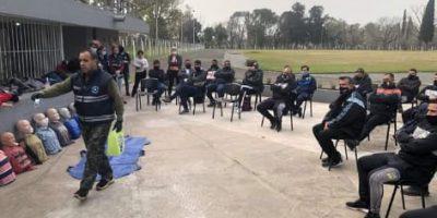 Deportes y Defensa Civil llevan adelante un programa de capacitación en emergencias médicas 14