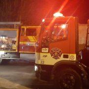 Se incendiaron 2 viviendas en Barrio Otero 4