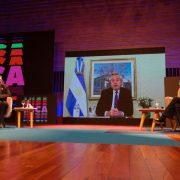 Alberto Fernández presentó por vía virtual la plataforma digital MICA 2021 1