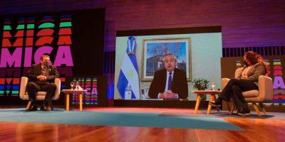 Alberto Fernández presentó por vía virtual la plataforma digital MICA 2021 5