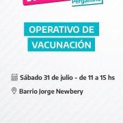 Operativo de Vacunación en Barrio Jorge Newbery 4