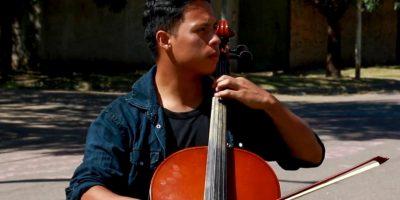 Dos integrantes de la Orquesta de Barrio Kennedy recibieron la Beca Martha Argerich 10