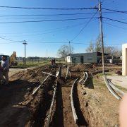 Obras de cordón cuneta en diferentes barrios 4