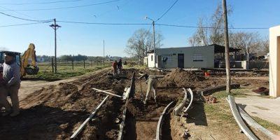 Obras de cordón cuneta en diferentes barrios 44