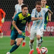 FÚTBOL: Con Jeremías Ledesma en cancha Argentina cayó en el debut en los Juegos Olímpicos 4