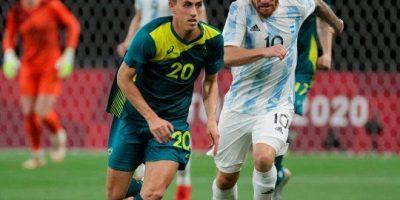 FÚTBOL: Con Jeremías Ledesma en cancha Argentina cayó en el debut en los Juegos Olímpicos 7